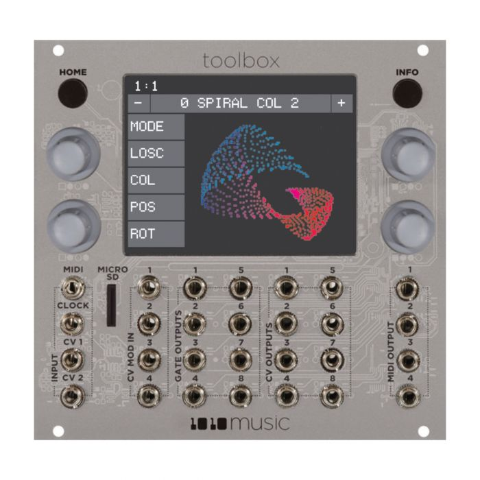 1010 Music LaserBox Eurorack Pattern Generator Module