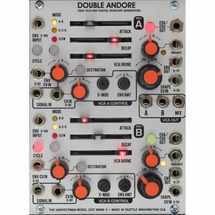 Industrial Music Electronics Double Andore II Eurorack VCA Module