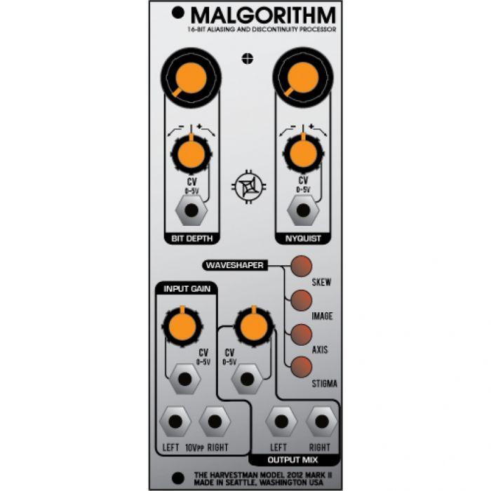 Industrial Music Electronics Malgorithm MK2 Eurorack Bitcrusher Module