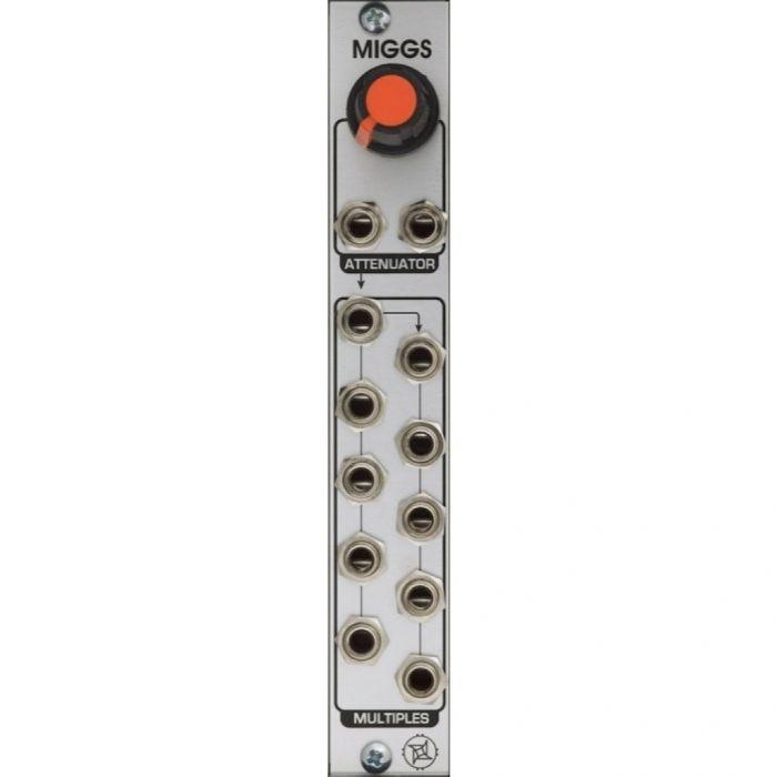 Industrial Music Electronics Multiple Miggs Eurorack Passive Mult Module
