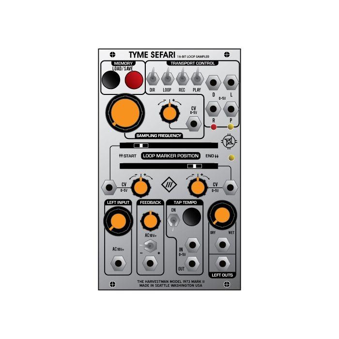 Industrial Music Electronics Tyme Sefari Eurorack Audio Loop & Sampler Module