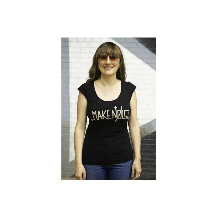 Make Noise Logo T-Shirt - Grey-Glo (Women's Large)