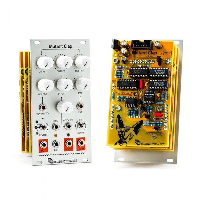 Hexinverter Electronique Mutant Clap Eurorack Drum Module
