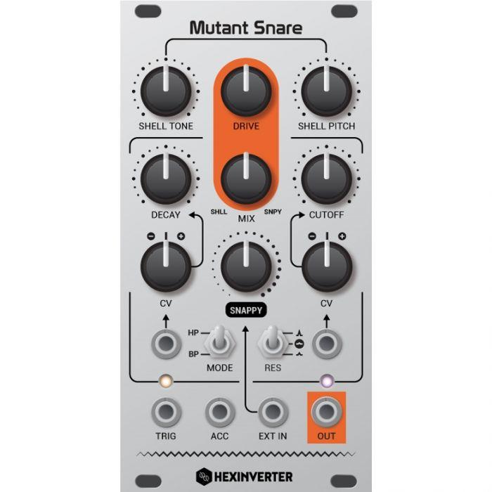 Hexinverter Electronique Mutant Snare Eurorack Drum Module