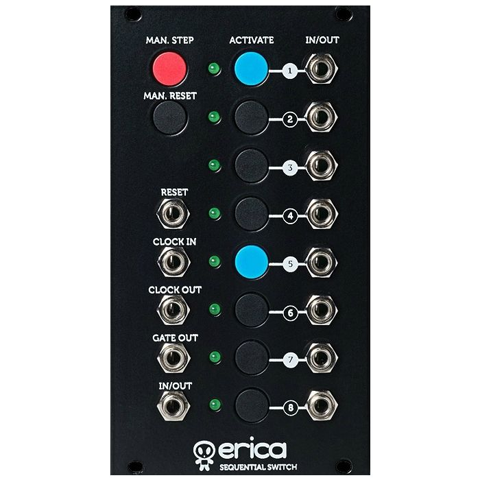 Erica Synths Sequential Switch Eurorack Module