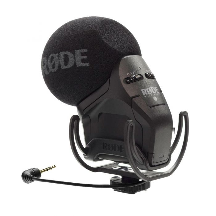 Rode Stereo Videomic Pro-R With Rycote Suspension