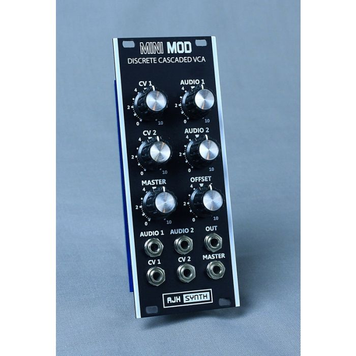 AJH Synth MiniMod VCA Eurorack Module (Vintage Black)