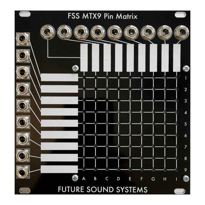 Future Sound Systems MTX9 Eurorack Passive Pin Matrix Module