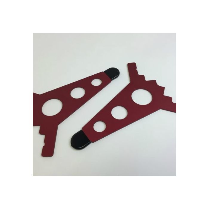 Intellijel Performance Eurorack Case - 7U Joiner Plates (Pair) - RED