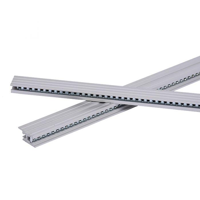 TipTop Audio Z-Rails 104HP Eurorack Mounting Rails - Silver (Pair)