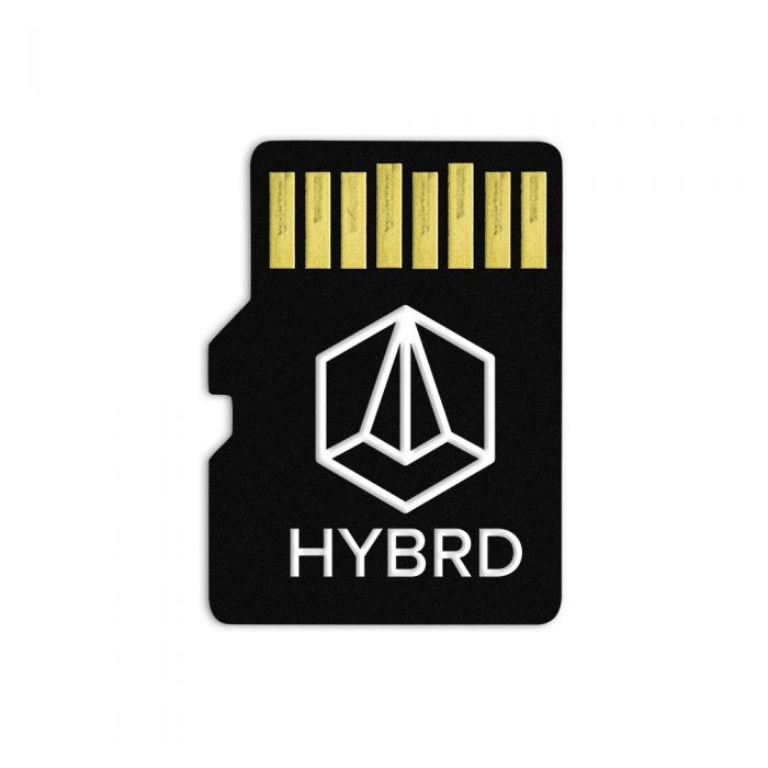 TipTop Audio ONE Sample Content Card - HYBRD (Glitchmachines)