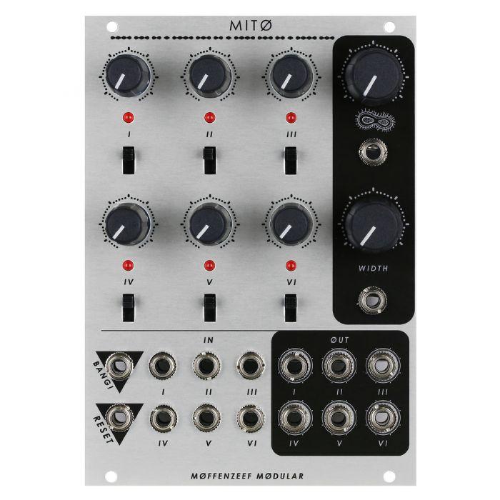 Moffenzeef Modular MITO Eurorack Poly-Rhythm Sequencer Module