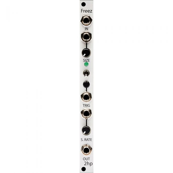 2hp Freez Eurorack Locked Looper Module (Silver)