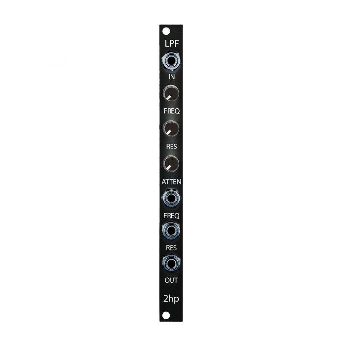 2hp LPF Eurorack Filter Module (Black)