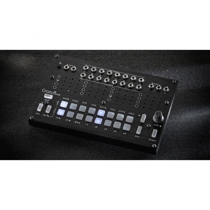 Twisted Electrons Crazy8 Beats MIDI & Trigger Sequencer