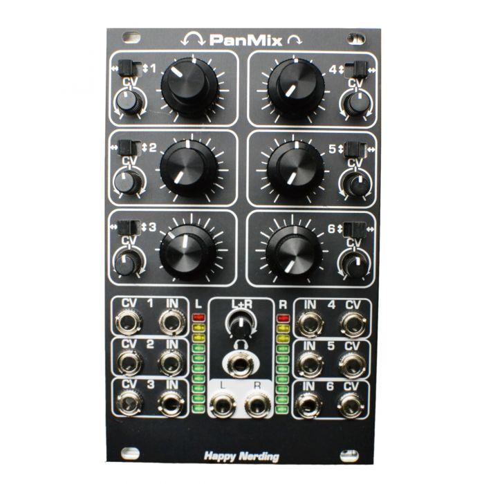 Happy Nerding PanMix Eurorack Stereo Audio Mixer Module (Black)