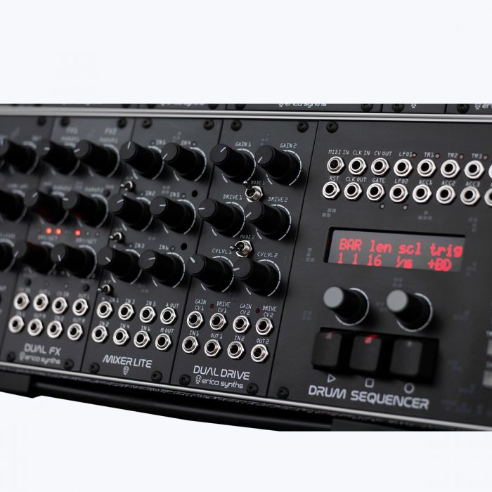 Erica Synths Techno System Eurorack Instrument