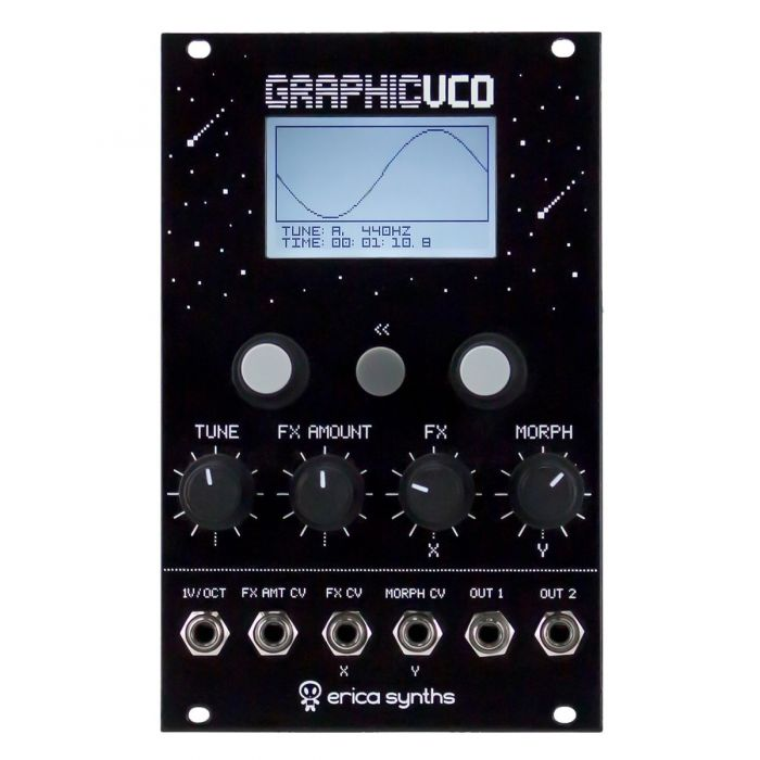 Erica Synths Graphic VCO Eurorack Oscillator Module