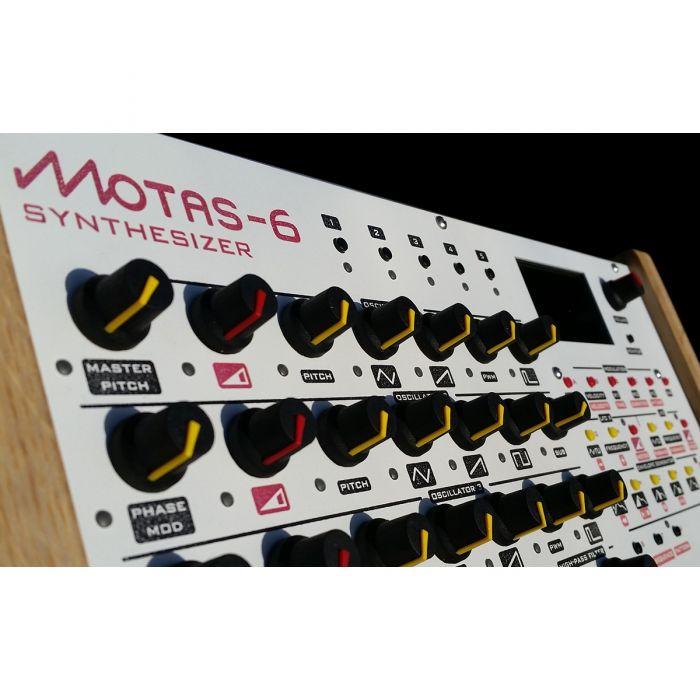 Motas Synth Motas 6 Desktop Analogue Synth w/ CV/Gate (White)