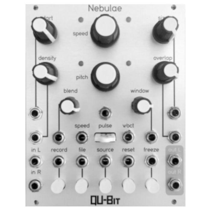 Qu-Bit Electronix Nebulae MK2 Eurorack Sampler Module (SIlver)