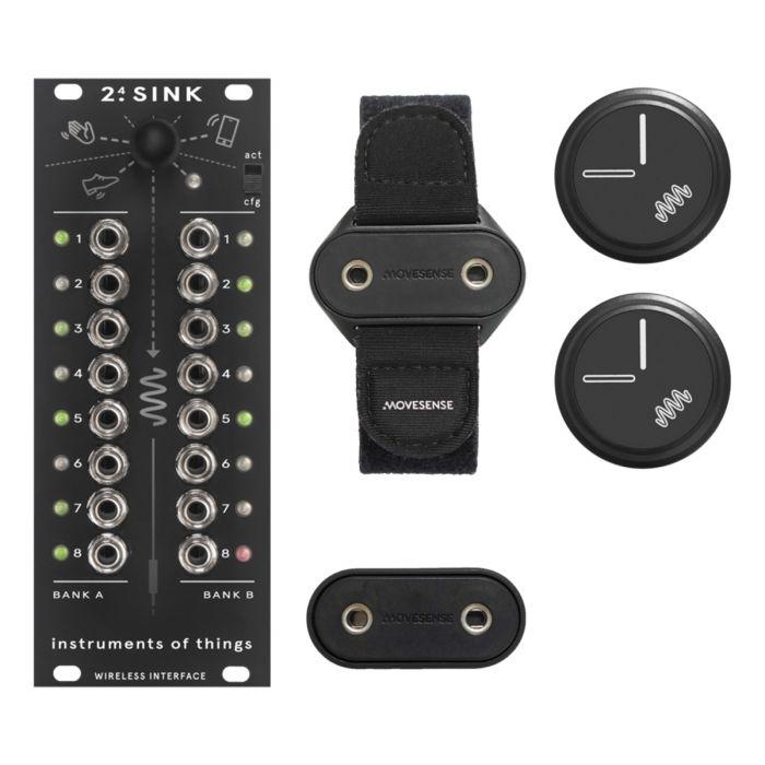 Instruments of Things 2.4 SINK Eurorack Wireless CV Module Starter Kit