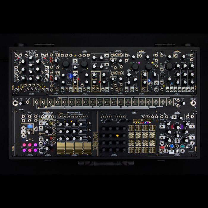 Make Noise Shared System Plus Eurorack Modular Synth (Black & Gold)