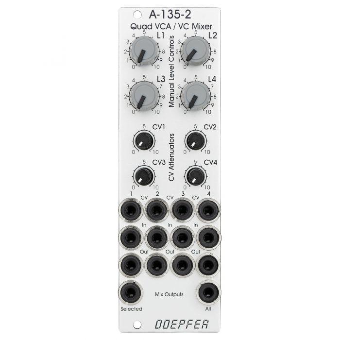 Doepfer A-135-2 Mini Quad VCA/Mixer Eurorack Module