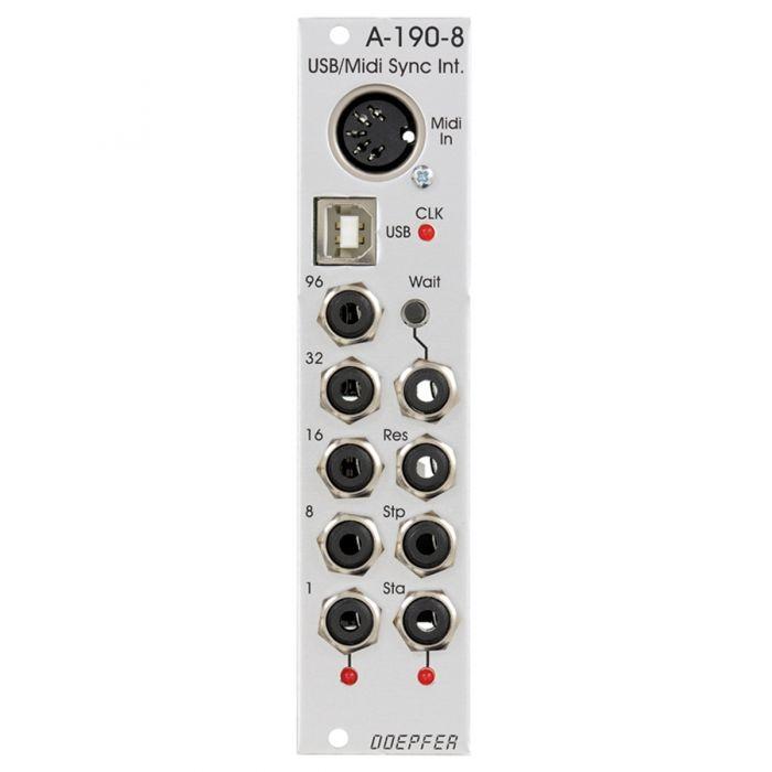 Doepfer A-190-8 Eurorack USB/MIDI to Sync Module