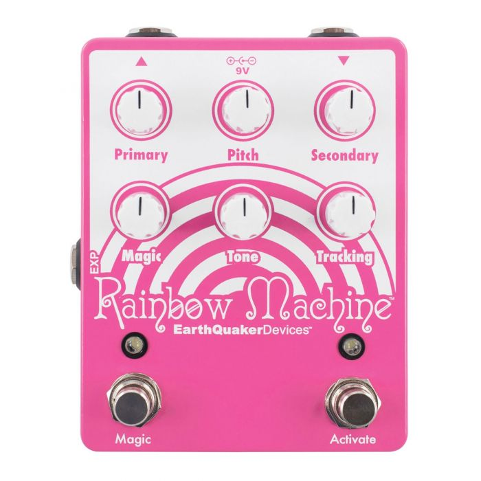Earthquaker Devices Rainbow Machine V2 Pitch Shifting Effects Pedal