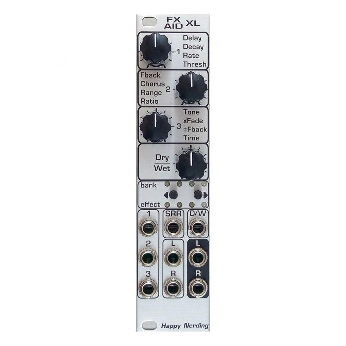 Happy Nerding FX Aid XL Eurorack Multi Effects Module (Silver)