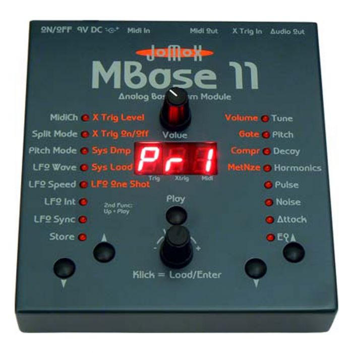 Jomox MBase II Analog Desktop Bass Drum Synth