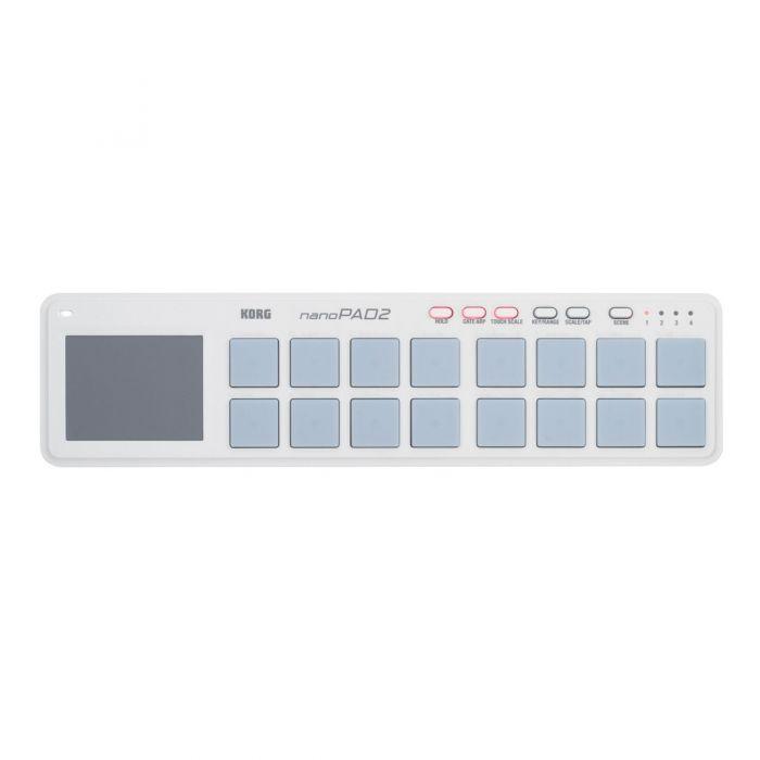Korg Nanopad 2 USB MIDI Controller (White)