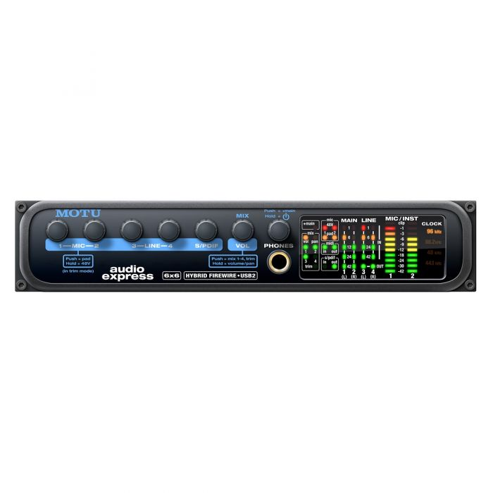 MOTU Audio Express 4x6 Audio Interface (Firewire/USB 2.0)