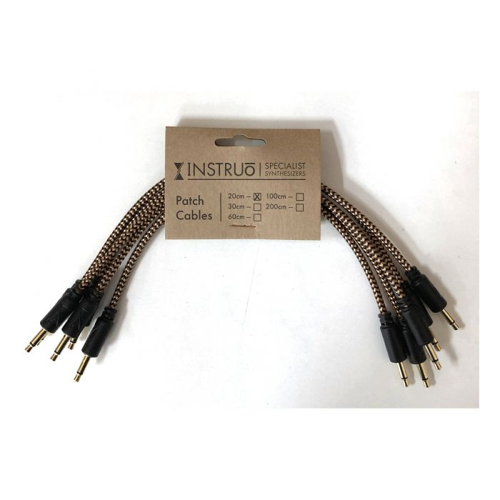 Instruo Eurorack Patch Cable (20cm * 5 Pack)