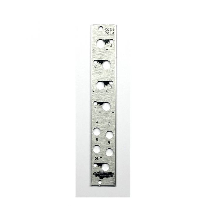 Noise Engineering Replacement Panel - Roti Pola  (Silver)