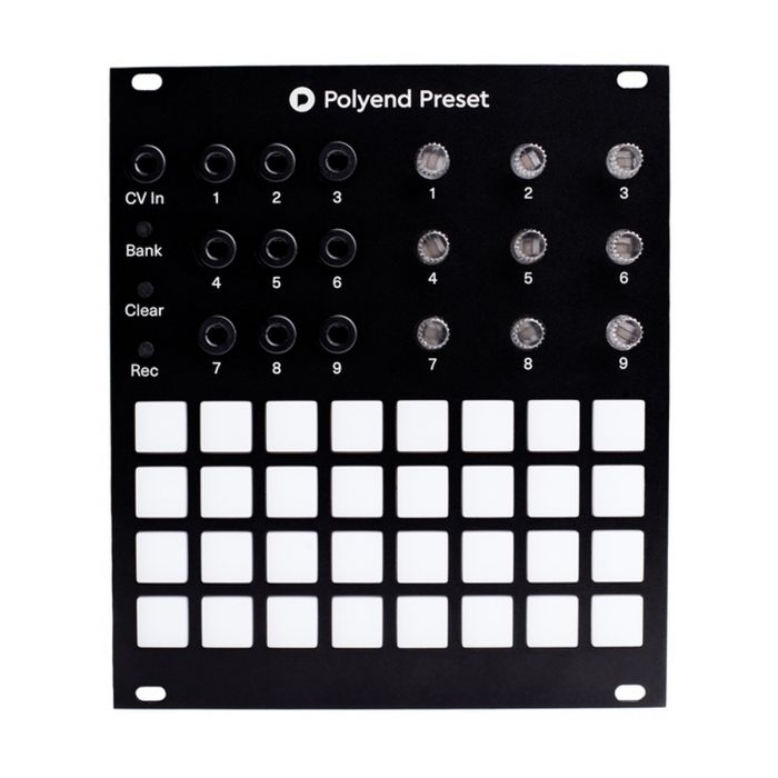 Polyend Preset Eurorack CV Recording & Preset Module