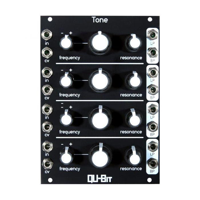 Qu-Bit Electronix Tone Eurorack Quad Filter Module - Black