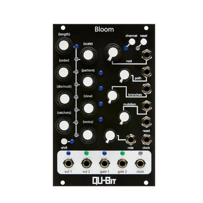 Qu-Bit Electronix Bloom Eurorack Fractal Sequencer Module (Black)