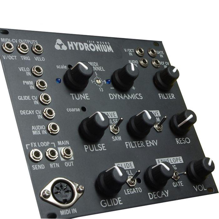 Rare Waves Hydronium Eurorack Synth Voice Module (303) - Black