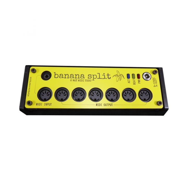 Sixty Four Pixels Banana Split 6 Output MIDI Thru Box