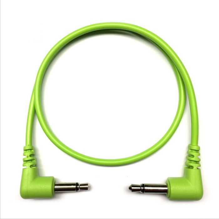 Tendrils Cables Right Angled Eurorack Patch Cables (Lime)