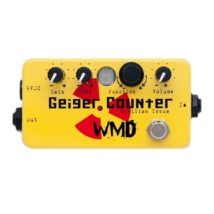 WMD Geiger Counter 8 Bit Overdrive Pedal - Civilian Issue