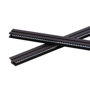 TipTop Audio Z-Rails 20HP Eurorack Mounting Rails - Black (Pair)