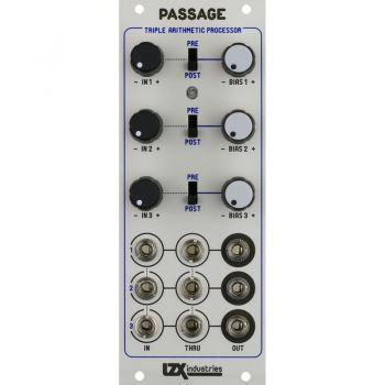 LZX Industries Passage Eurorack Audio & Video Mixer Module