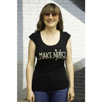 Make Noise Logo T-Shirt - Grey-Glo (Women's Small)