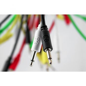 Erica Synths Eurorack Patch Cables 5 Pack (20cm White)