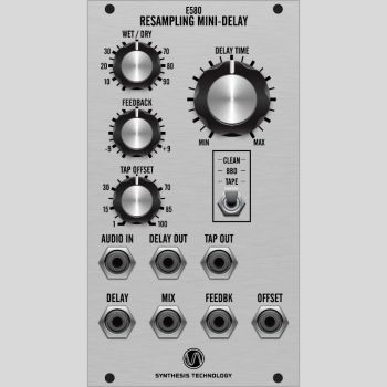 Synthesis Technology E580 Mini-Delay Eurorack FX Module