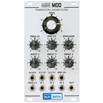 AJH Synth MiniMod VCF Eurorack Module (Silver)