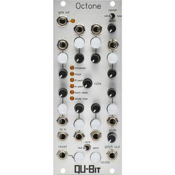 Qu-Bit Electronix Octone Eurorack Sequencer Module (Silver)