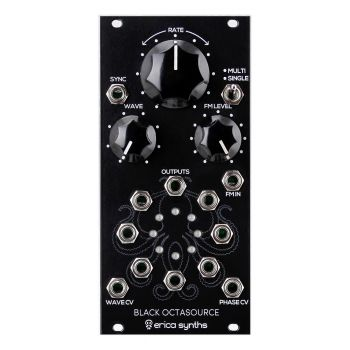 Erica Synths Black Octasource Eurorack LFO Module